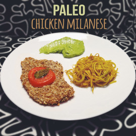 Paleo Chicken Milanese — Paleo Italian Breaded Chicken