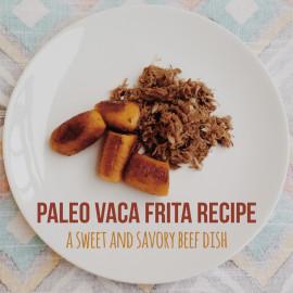 Paleo Vaca Frita Recipe