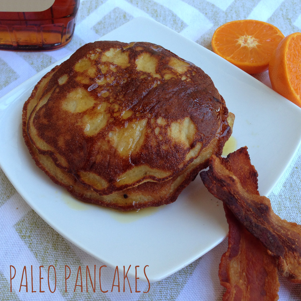Recipe for Paleo Pancakes