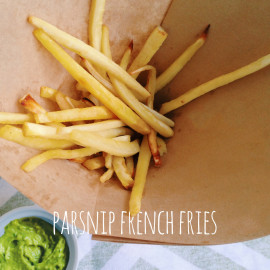 Parsnip French Fries