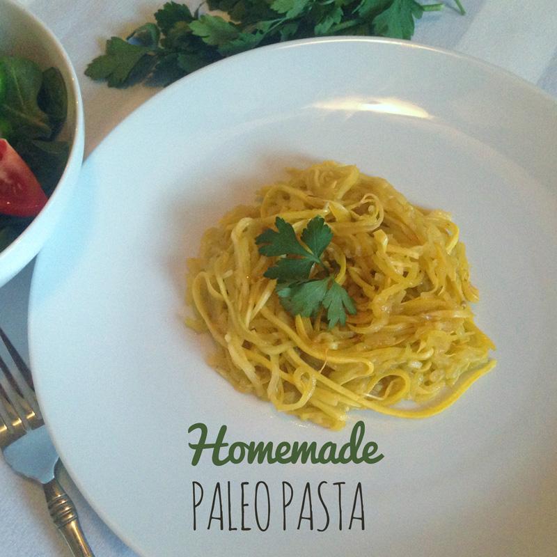 Homemade Paleo Veggie Pasta