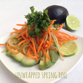 Unwrapped Spring Rolls