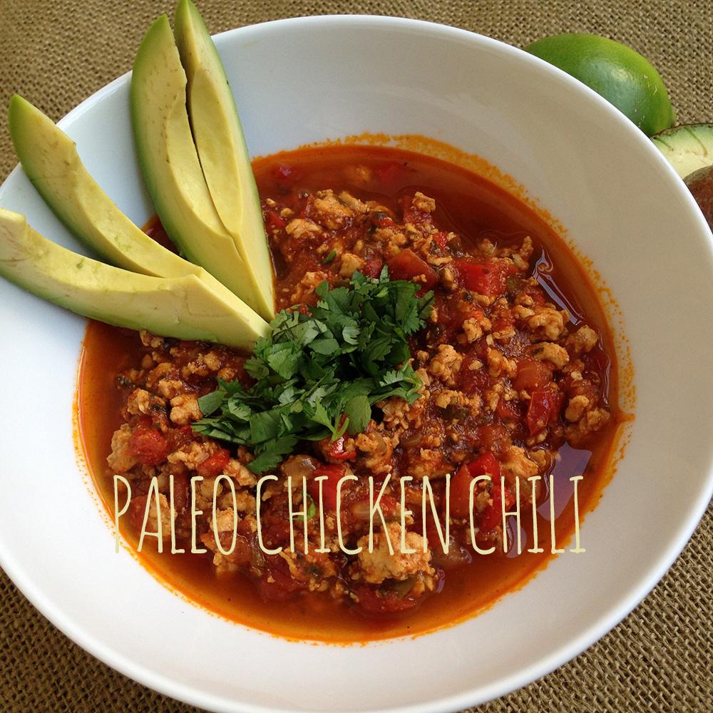 Chicken chili recipe spicy