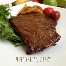 Puerto Rican Steaks